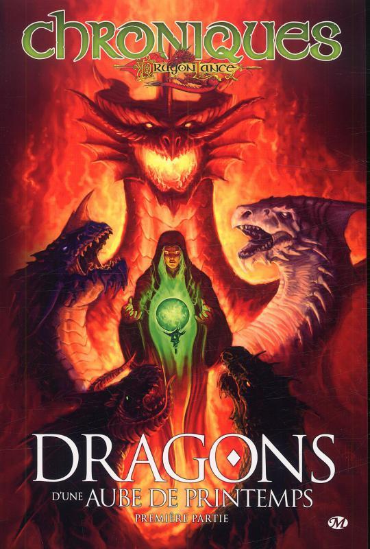 Chroniques de Dragonlance T3 : Dragons d'une aube de printemps - 1ère partie (0), comics chez Milady Graphics de Hickman, Weis, Dabb, Gopez, de La torre, Perez, Ruffino, Chong, Walpole