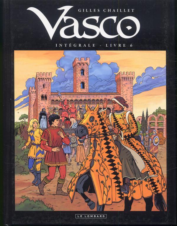 Vasco T6, bd chez Le Lombard de Chaillet, Defachelle
