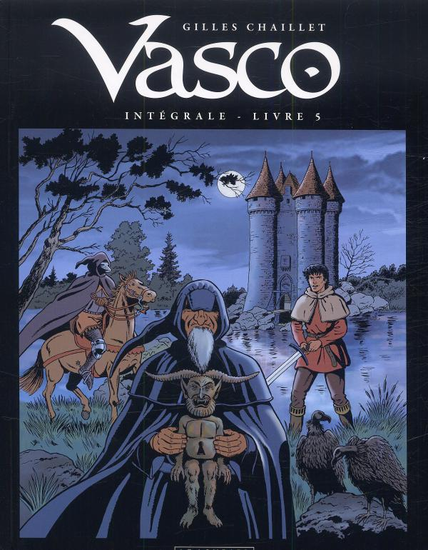 Vasco T5, bd chez Le Lombard de Chaillet, Defachelle