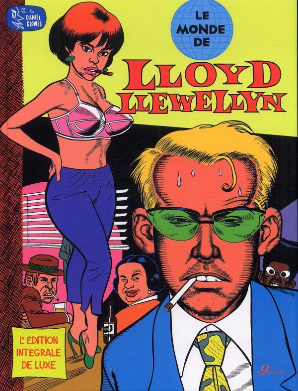 Lloyd Lewellyn, comics chez Le 9ème monde de Clowes