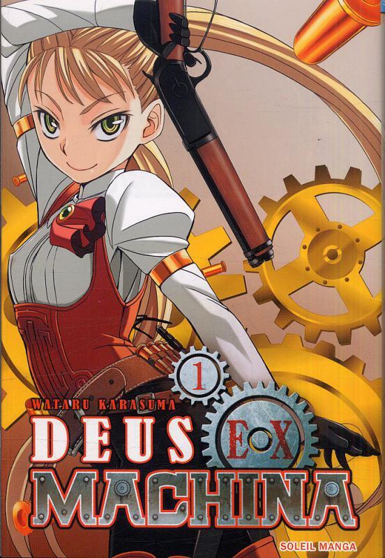 Deus ex machina T1, manga chez Soleil de Karasuma