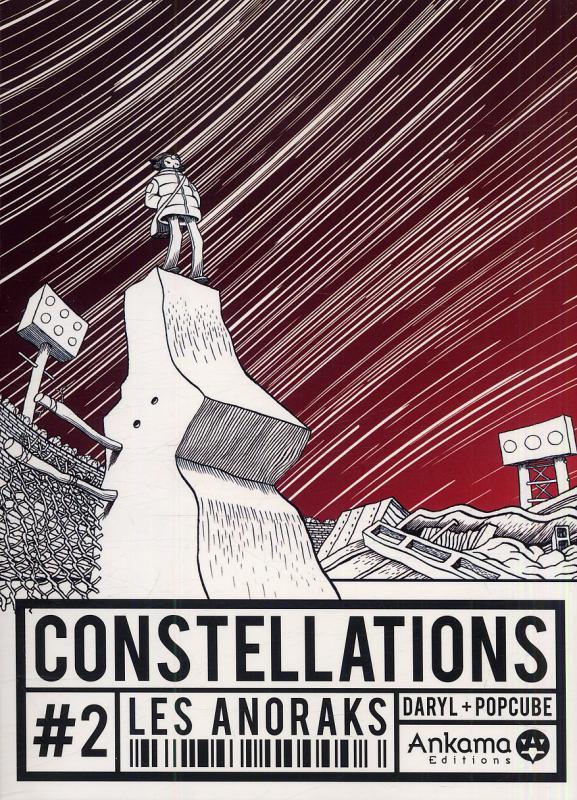 Constellations T2 : Les anoraks (0), bd chez Ankama de Daryl, Popcube