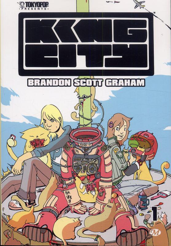 King City T1, comics chez Milady Graphics de Graham