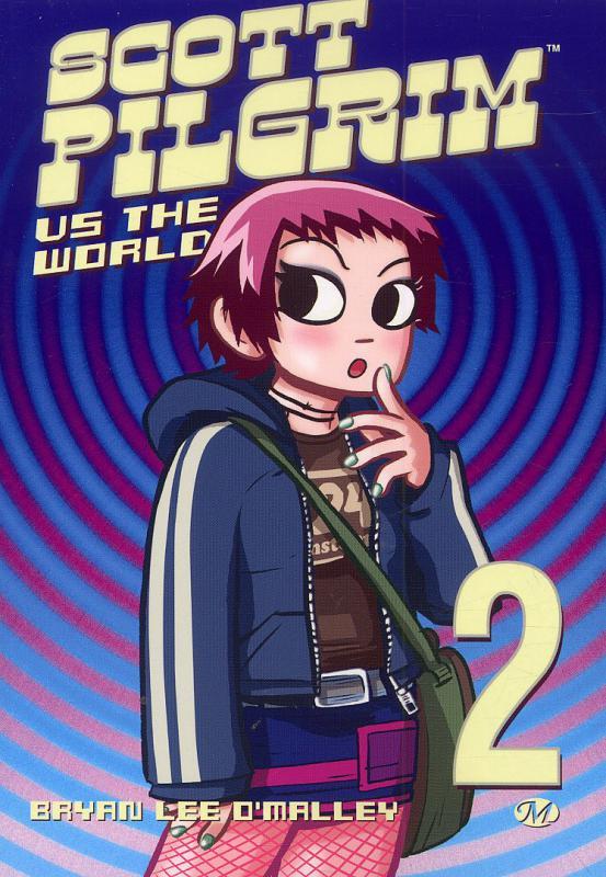 Scott Pilgrim – 1ère édition - N&B, T2 : vs. the world (0), comics chez Milady Graphics de O'Malley