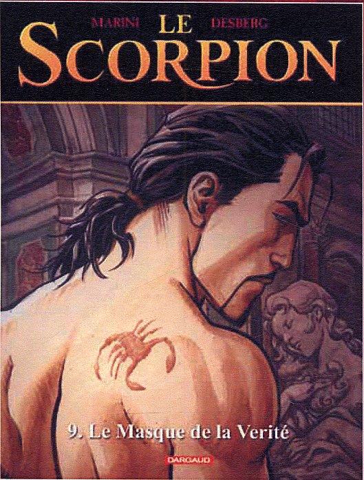 Le scorpion T9 : Le masque de la vérité (0), bd chez Dargaud de Desberg, Marini