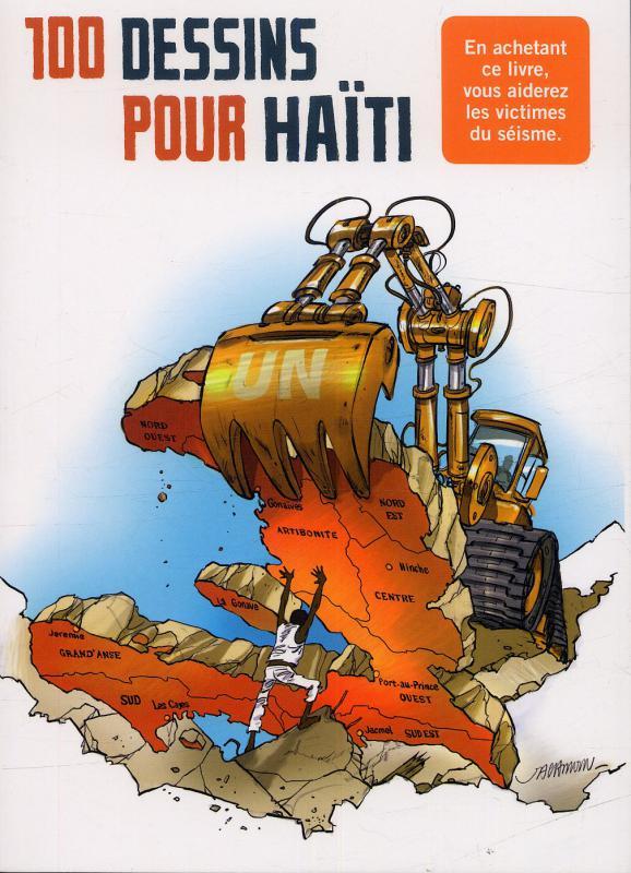 100 dessins pour Haïti, bd chez Casterman de Collectif, Jacamon