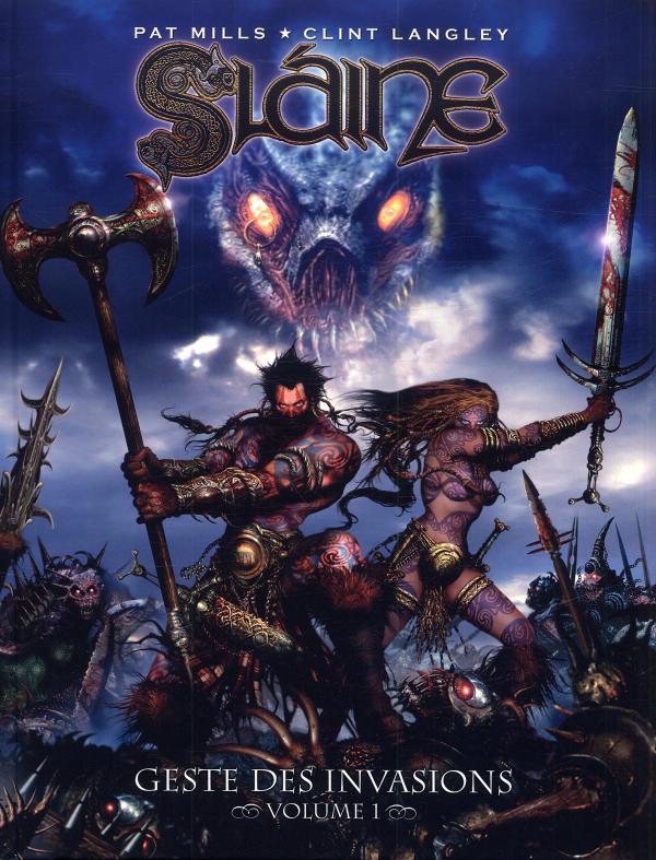 Slaine - Geste des invasions T1, comics chez Nickel de Mills, Langley