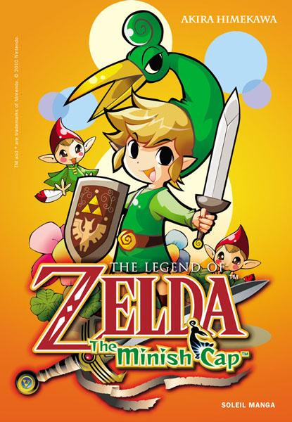 The legend of Zelda - The minish cap, manga chez Soleil de Himekawa