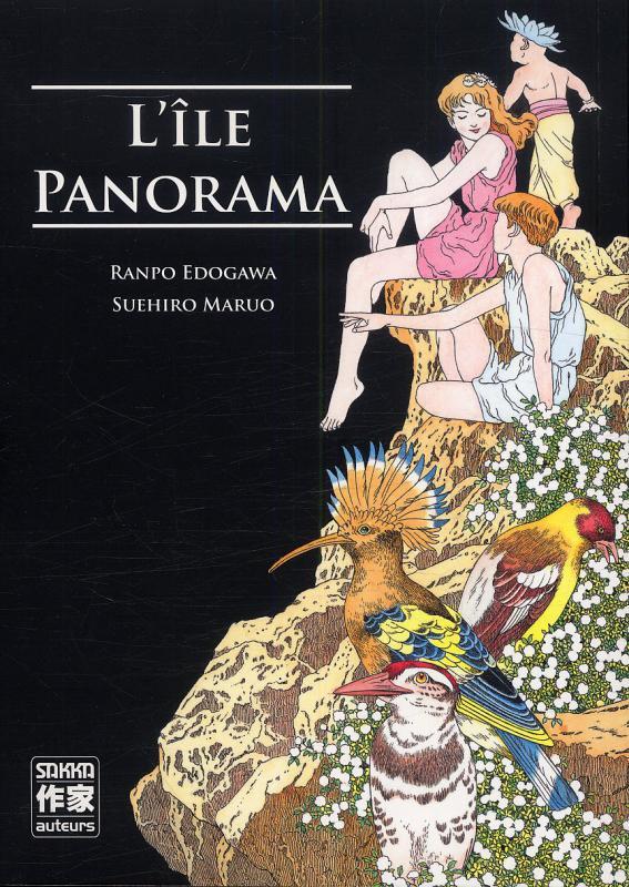 L'ile panorama, manga chez Casterman de Edogawa, Maruo