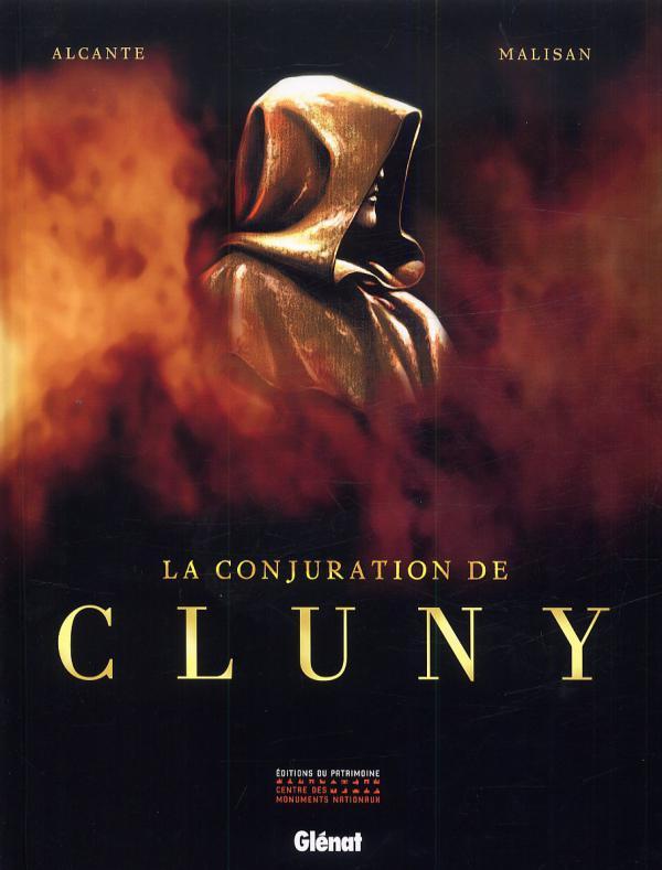 La conjuration de Cluny T1, bd chez Glénat de Alcante, Malisan, Francescutto