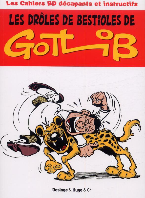 Les cahiers BD décapants et instructifs : Les drôles de bestioles de Gotlib (0), bd chez Desinge&Hugo&Cie de Pastor, Gotlib