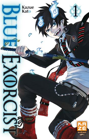 Blue exorcist T1, manga chez Kazé manga de Kato