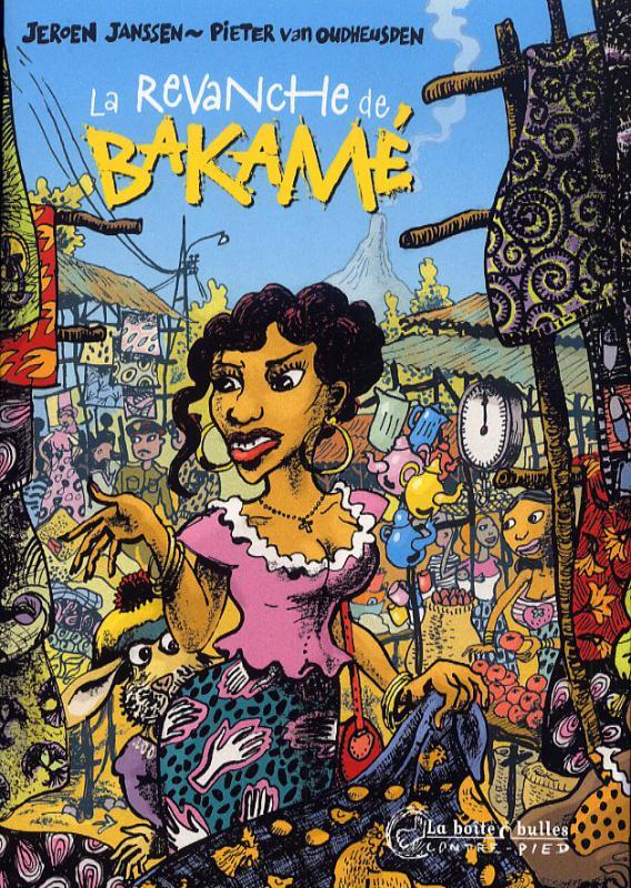 La revanche de Bakamé, bd chez La boîte à bulles de Van Oudheusden, Janssen