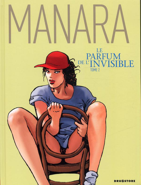 Le parfum de l'invisible T2, bd chez Drugstore de Manara, Studio 9