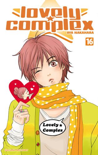 Lovely complex T16, manga chez Delcourt de Nakahara