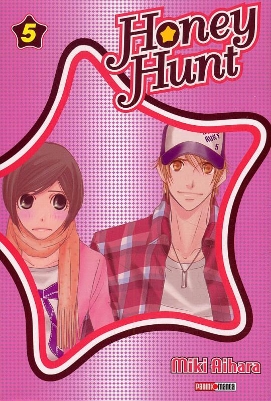 Honey hunt T5, manga chez Panini Comics de Aihara