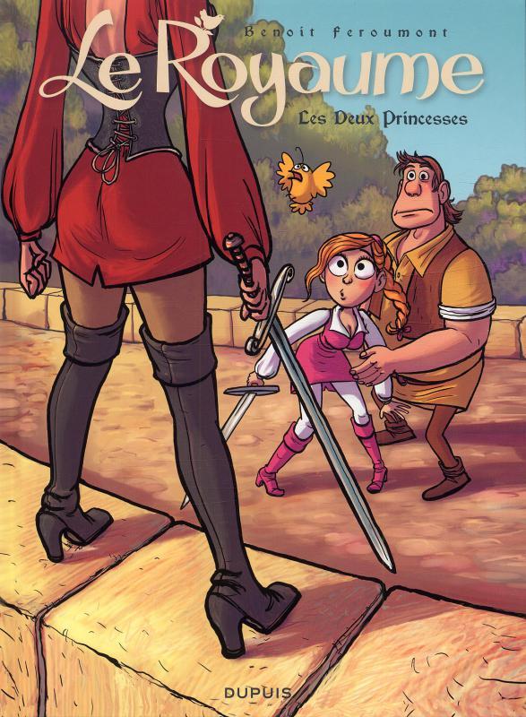 Le royaume T2 : Les deux princesses (0), bd chez Dupuis de Feroumont, Coopman