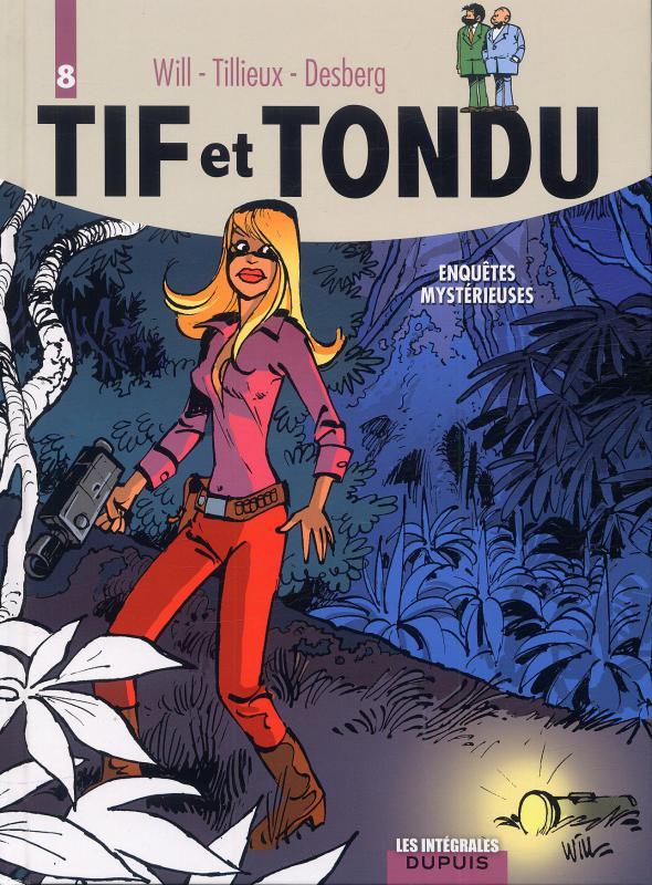 Tif et Tondu T8, bd chez Dupuis de Tillieux, Desberg, Will