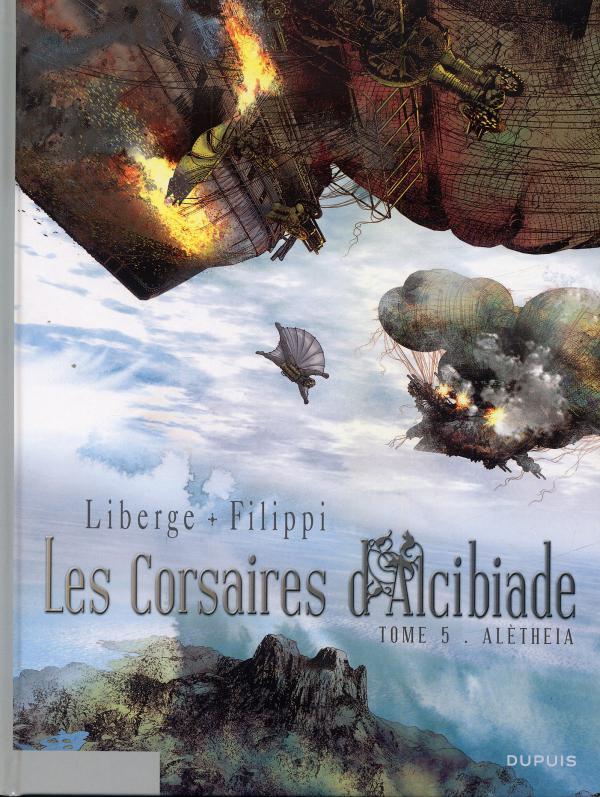 Les corsaires d'Alcibiade T5 : Aléthèia (0), bd chez Dupuis de Filippi, Liberge