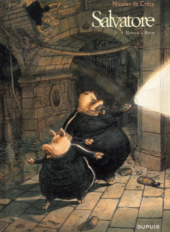 Salvatore T4 : Retour à Brest (0), bd chez Dupuis de de Crecy, Walter