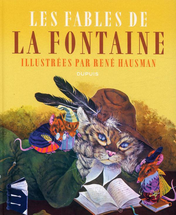 Les fables de la Fontaine, bd chez Dupuis de Hausman