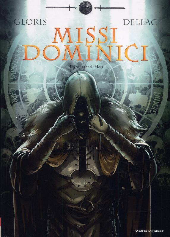 Missi Dominici T2 : Second livre : mort (0), bd chez Vents d'Ouest de Gloris, Dellac, Bell
