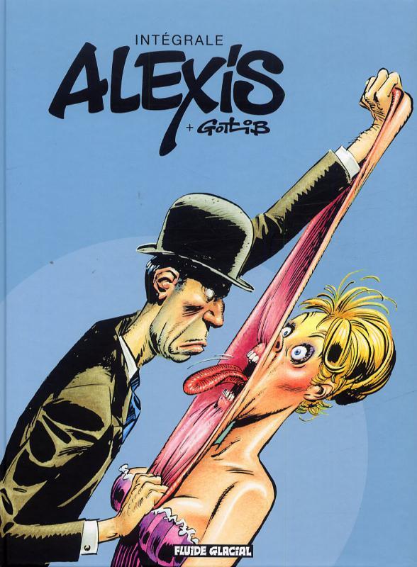 Alexis + Gotlib, bd chez Fluide Glacial de Alexis, Gotlib