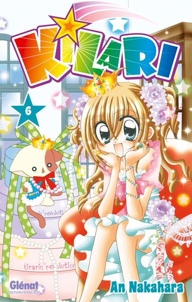Kilari  T6, manga chez Glénat de Nakahara