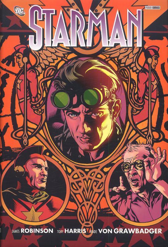 Starman T1, comics chez Panini Comics de Robinson, Harris, Von Grawbadger