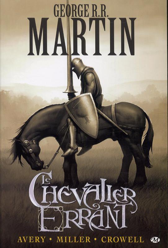 Le chevalier errant, comics chez Milady Graphics de Avery, Miller
