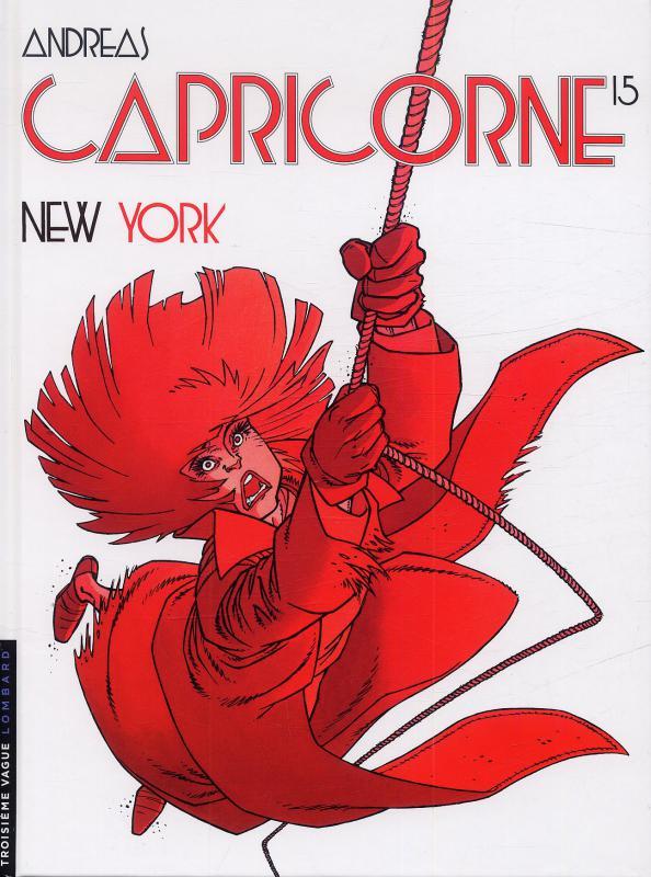 Capricorne T15 : New-York (0), bd chez Le Lombard de Andreas