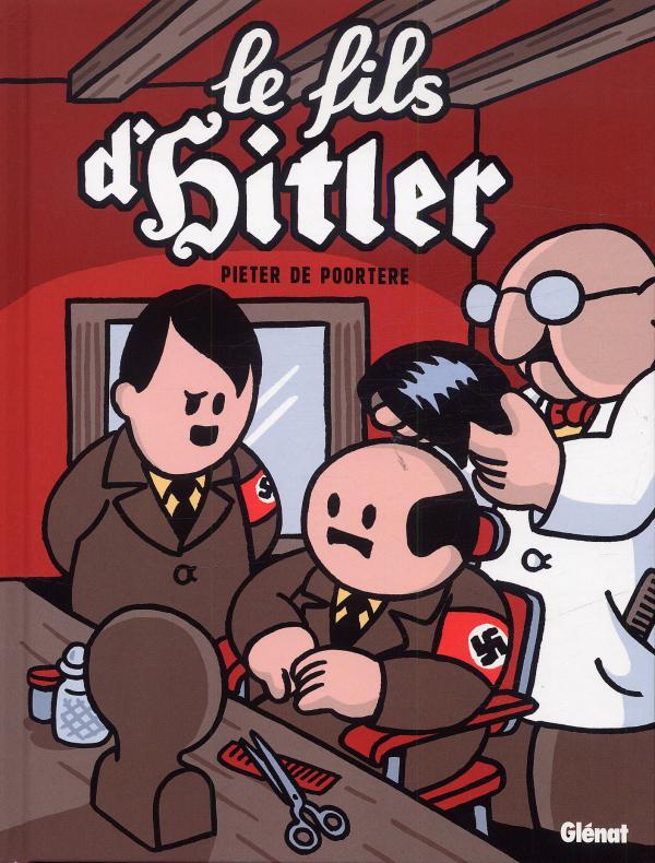 Dickie T1 : Le fils de Hitler (0), bd chez Glénat de de Poortere