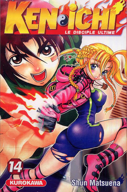 Ken-Ichi – Le disciple ultime, T14, manga chez Kurokawa de Matsuena