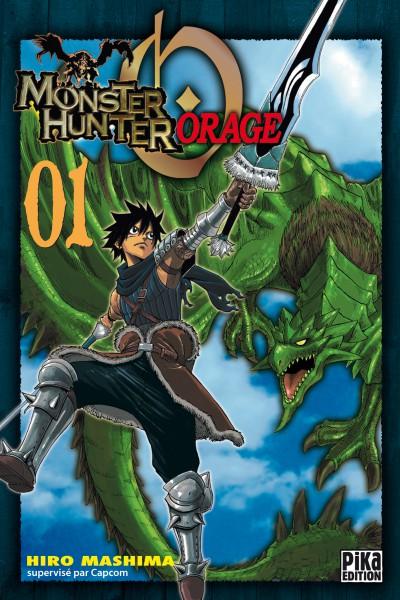 Monster Hunter orage – 1ère édition, T1, manga chez Pika de Mashima