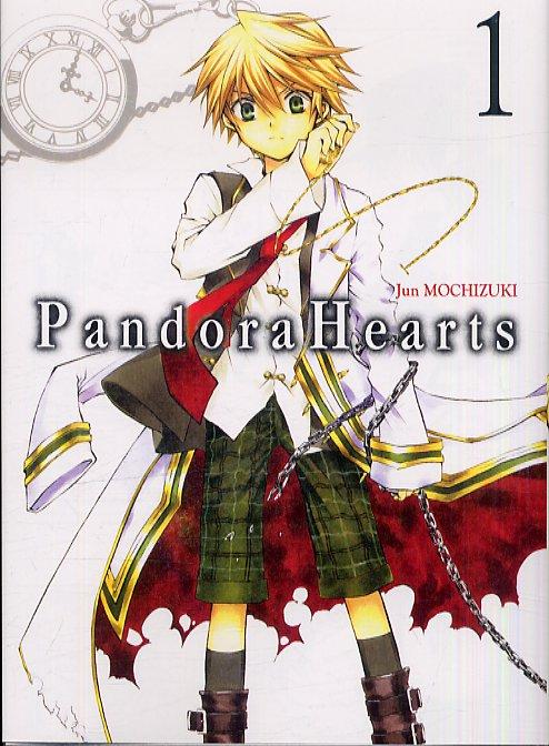 Pandora Hearts T1, manga chez Ki-oon de Mochizuki
