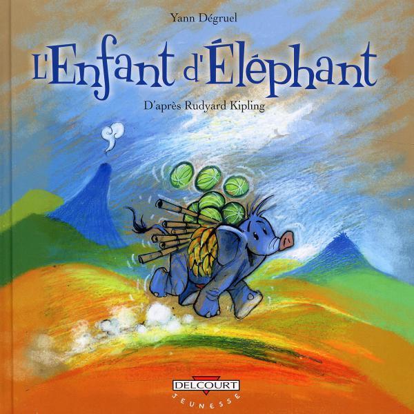 L'enfant d'éléphant, bd chez Delcourt de Degruel