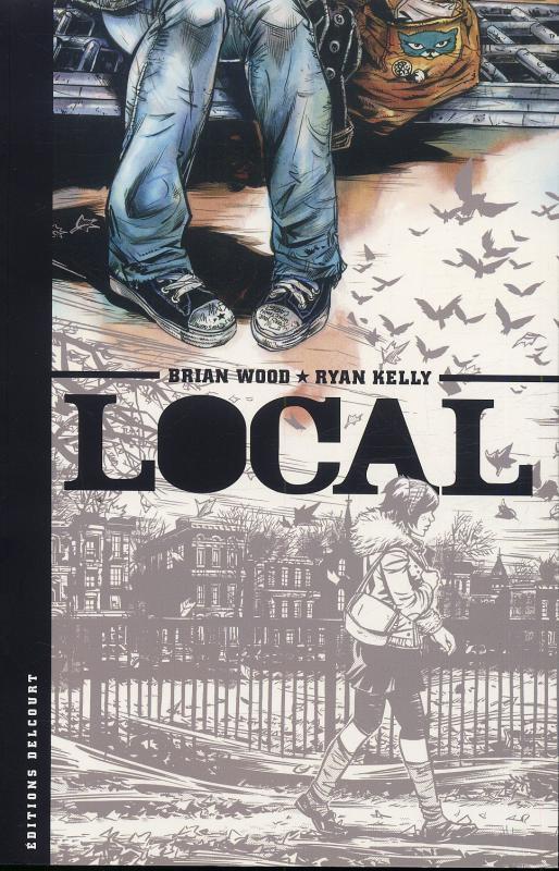 Local, comics chez Delcourt de Wood, Kelly