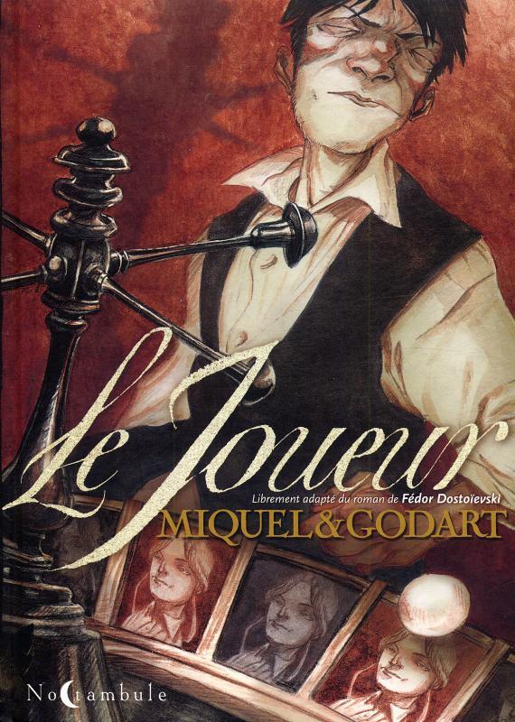 Le joueur, bd chez Soleil de Miquel, Godart