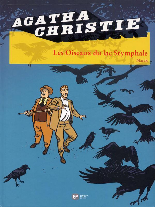 Agatha Christie T20 : Les Oiseaux du lac Stymphale (0), bd chez Emmanuel Proust Editions de Marek, Bouchard