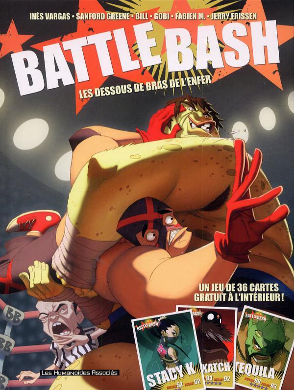 Battle bash : Les dessous de bras de l'enfer (0), bd chez Les Humanoïdes Associés de Vargas, Frissen, Mense, Bill, Gaubert, Greene, Firoud