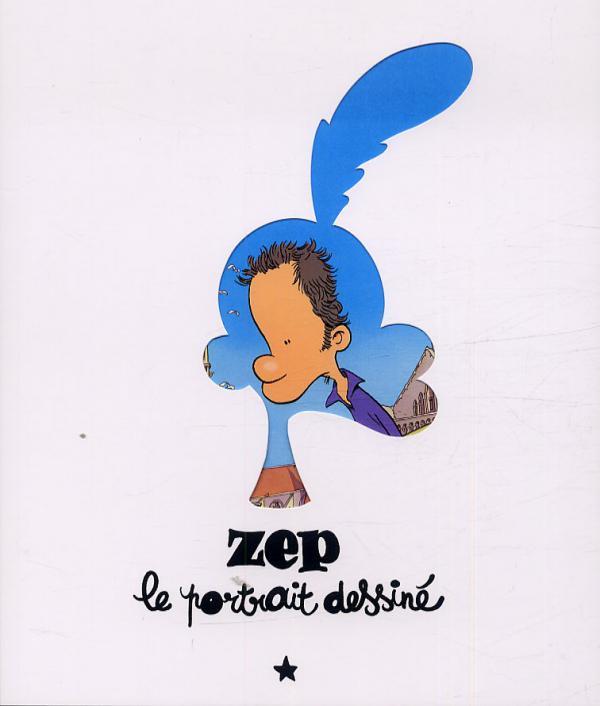 Le portrait dessiné, bd chez MUDAC - BD FIL de Zep