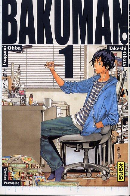 Bakuman T1, manga chez Kana de Ohba, Obata