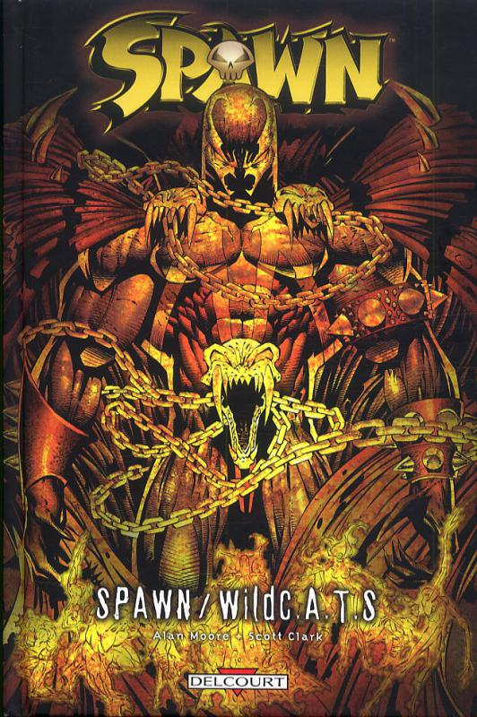 Spawn : Spawn / WildC.A.T.S. (0), comics chez Delcourt de Moore, Clark, Clark