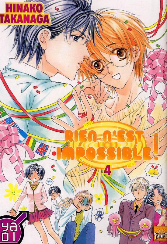 Rien n'est impossible T4, manga chez Taïfu comics de Takanaga