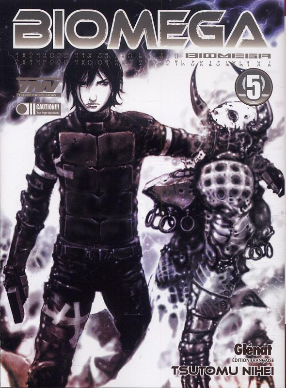 Biomega T5, manga chez Glénat de Nihei