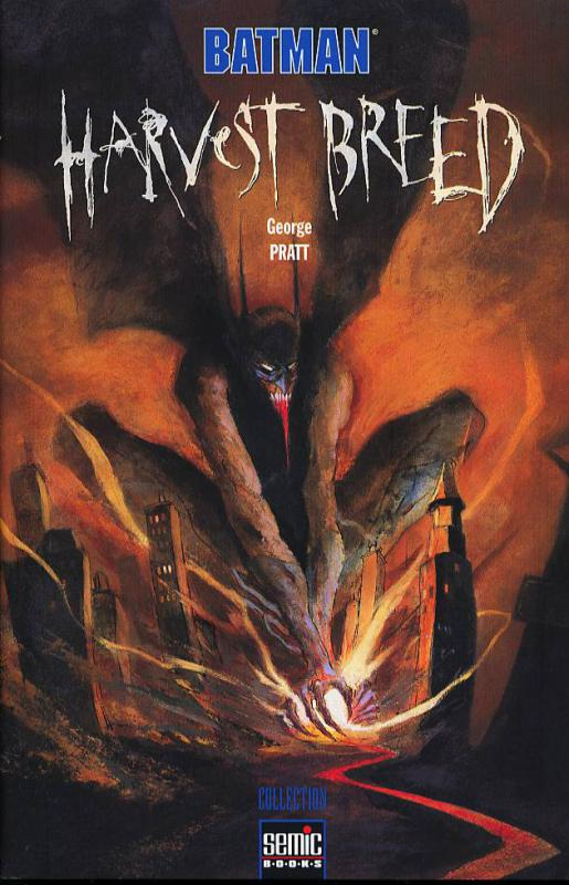 Batman - Harvest breed, comics chez Semic de Pratt
