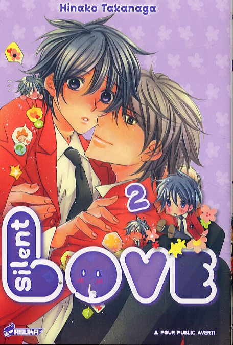 Silent love T2, manga chez Asuka de Takanaga