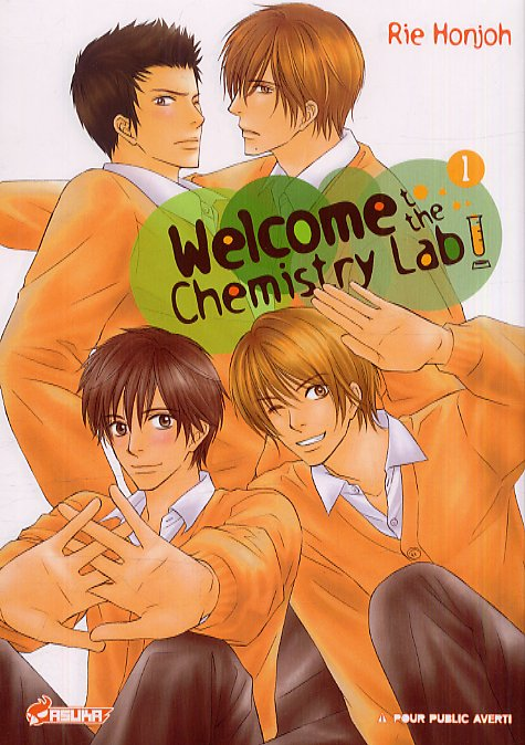 Welcome to the chemistry lab ! T1, manga chez Asuka de Honjoh