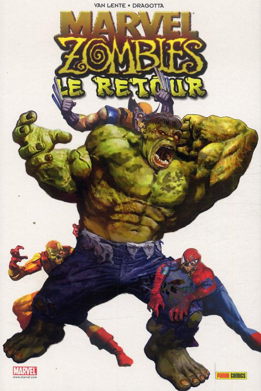 Marvel Zombies T6 : Le retour (0), comics chez Panini Comics de Wellington, Grahame-smith, Van Lente, Maberry, Elson, Alves, Alexander, Mutti, Dragotta, Milla, Chung, Guru efx, Loughridge, Suydam