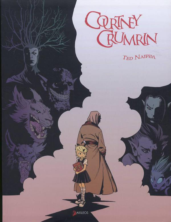 Courtney Crumrin, Edition Noir & Blanc, comics chez Akileos de Naifeh